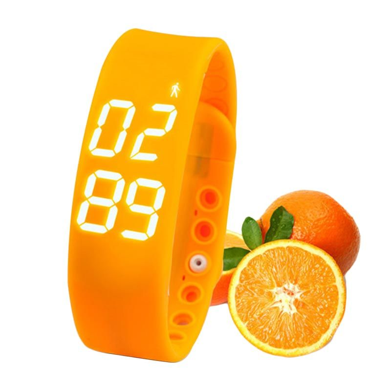 Onix W2 LED Orange Smart Watch