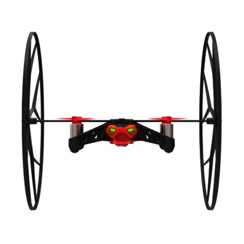 Parrot Rolling Spider Red Drone Mainan Remote Control