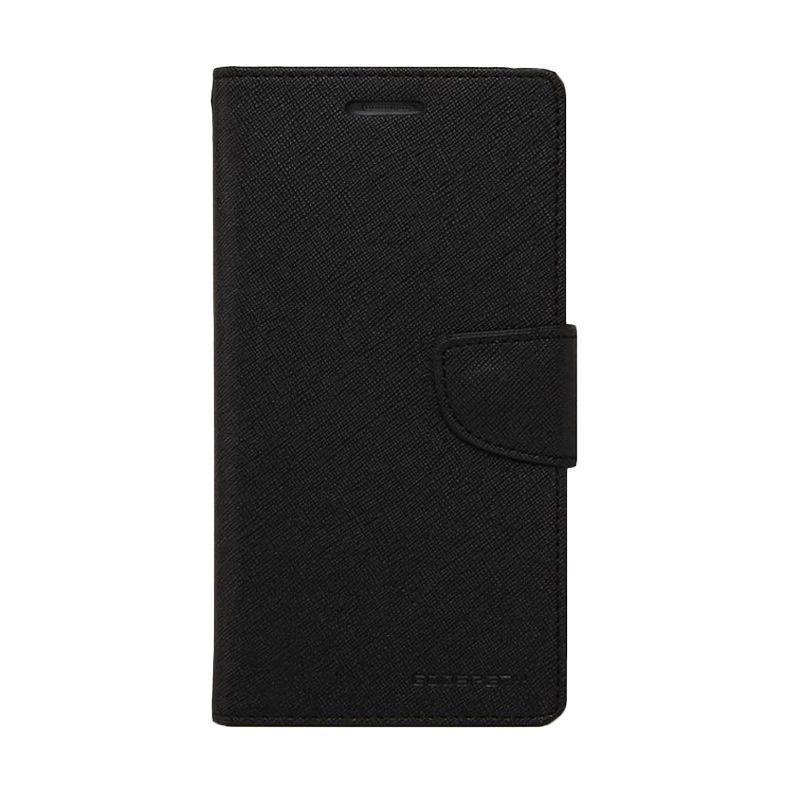 Mercury Goospery Fancy Diary Black Casing for Samsung Galaxy A5