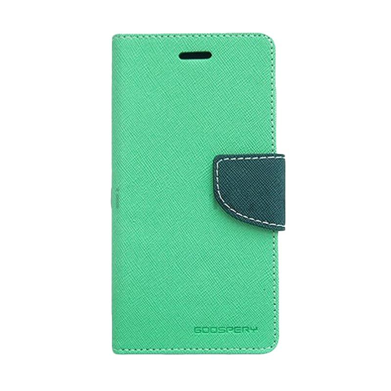 Mercury Goospery Fancy Diary Mint Navy Casing for Samsung Galaxy A5