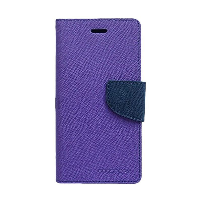Mercury Goospery Fancy Diary Purple Navy Casing for Grand Duos