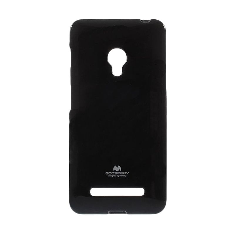 Mercury Goospery Jelly Case Black Casing for Asus Zenfone 6 A600
