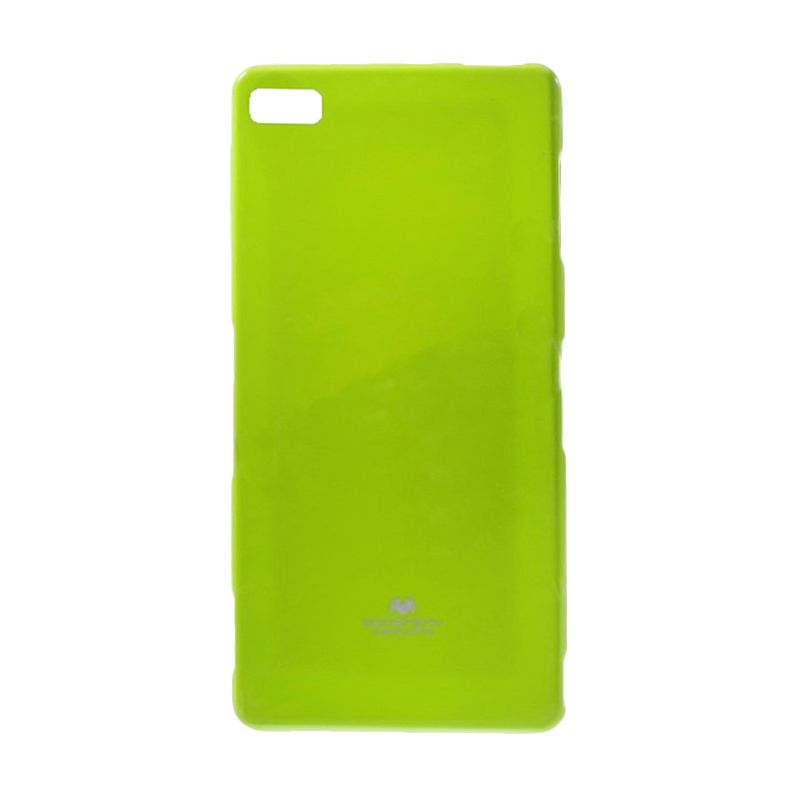 Mercury Goospery Jelly Case Lime Casing for Blackberry Z3