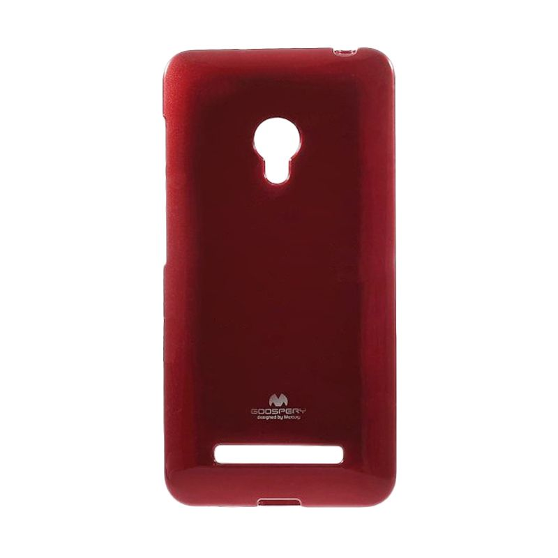 Mercury Goospery Jelly Case Red Casing for Asus Zenfone 6 A600