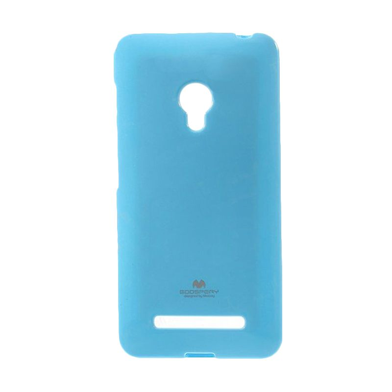 Mercury Goospery Jelly Case Sky Blue Casing for Asus Zenfone 6 A600