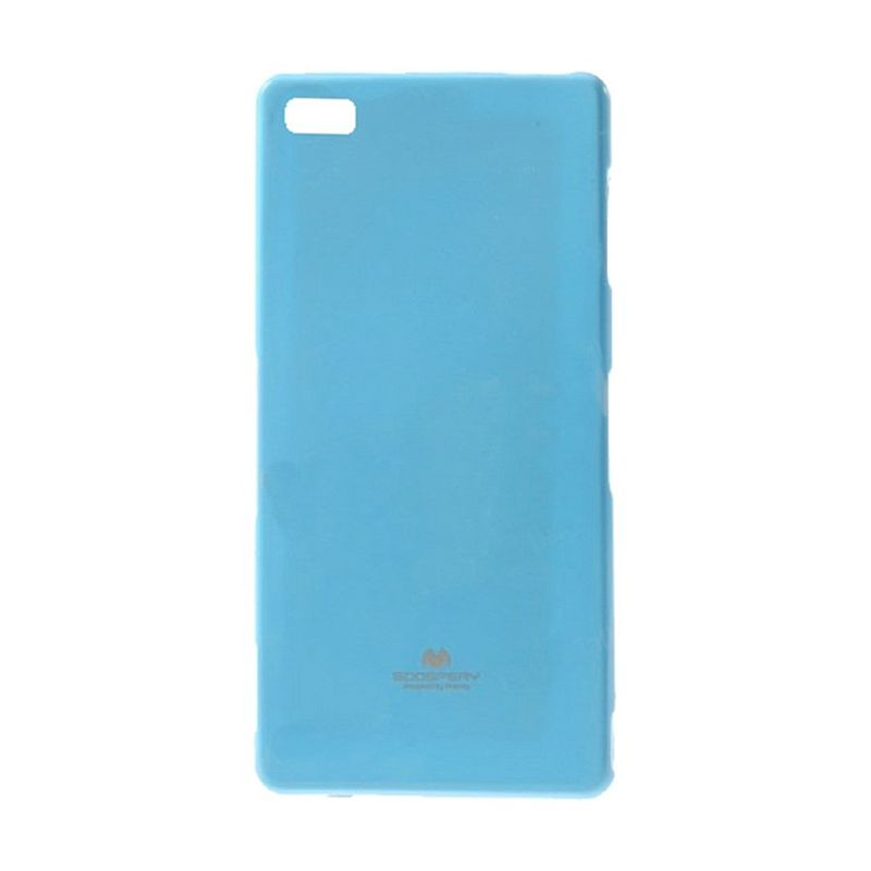 Mercury Goospery Jelly Case Sky Blue Casing for Blackberry Z3