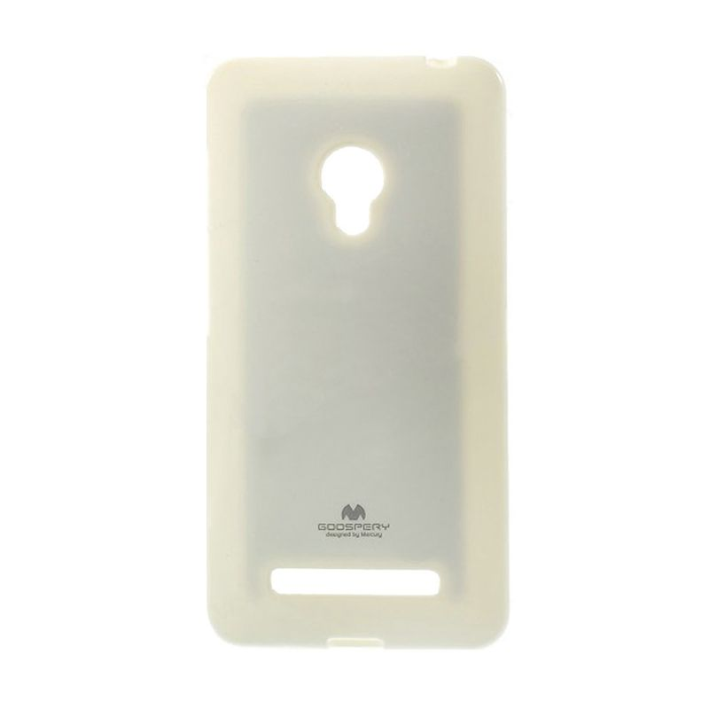 Mercury Goospery Jelly Case White Casing for Asus Zenfone 6 A600