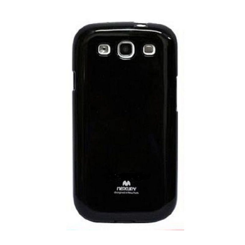 Mercury Goospery Jelly Glitter Black Casing for Galaxy V or ACE 4