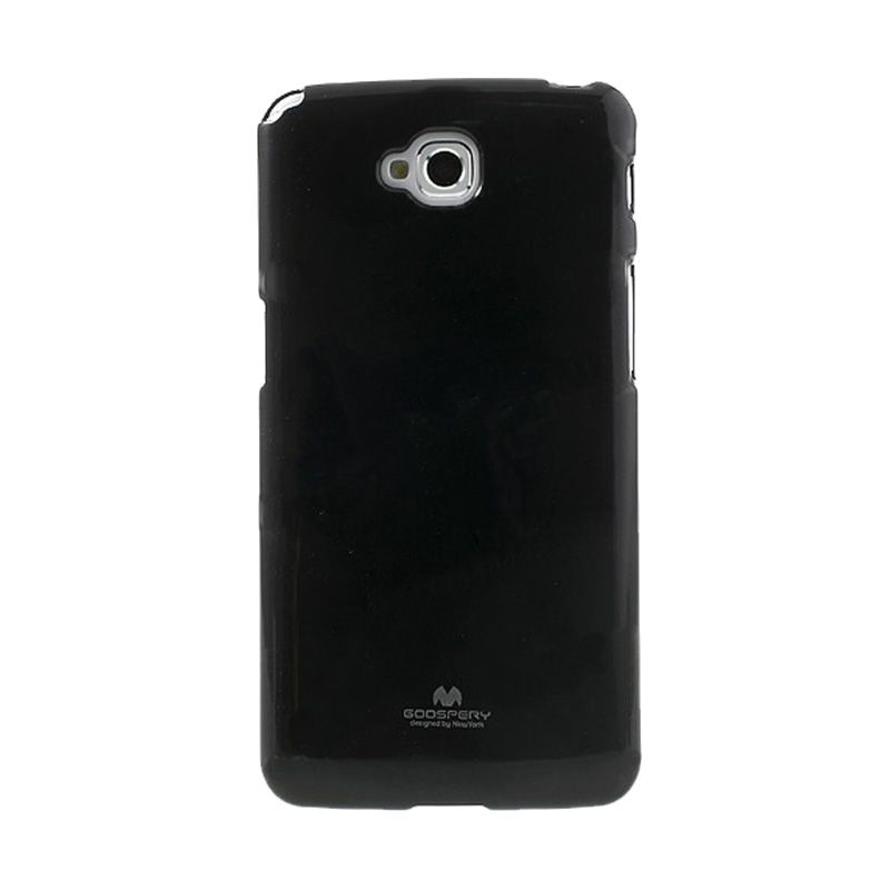 Mercury Goospery Jelly Glitter Black Casing for LG G Pro Lite or Dual