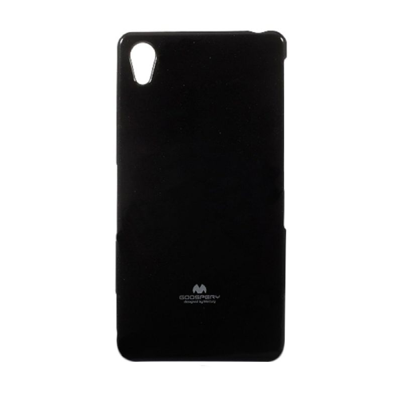 Mercury Goospery Jelly Glitter Black Casing for Sony Xperia Z3