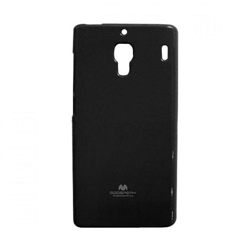 Mercury Goospery Jelly Glitter Black Casing for Xiaomi Redmi 1S