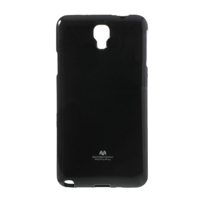 Mercury Goospery Jelly Glitter Black Casing for Xiaomi Redmi Note