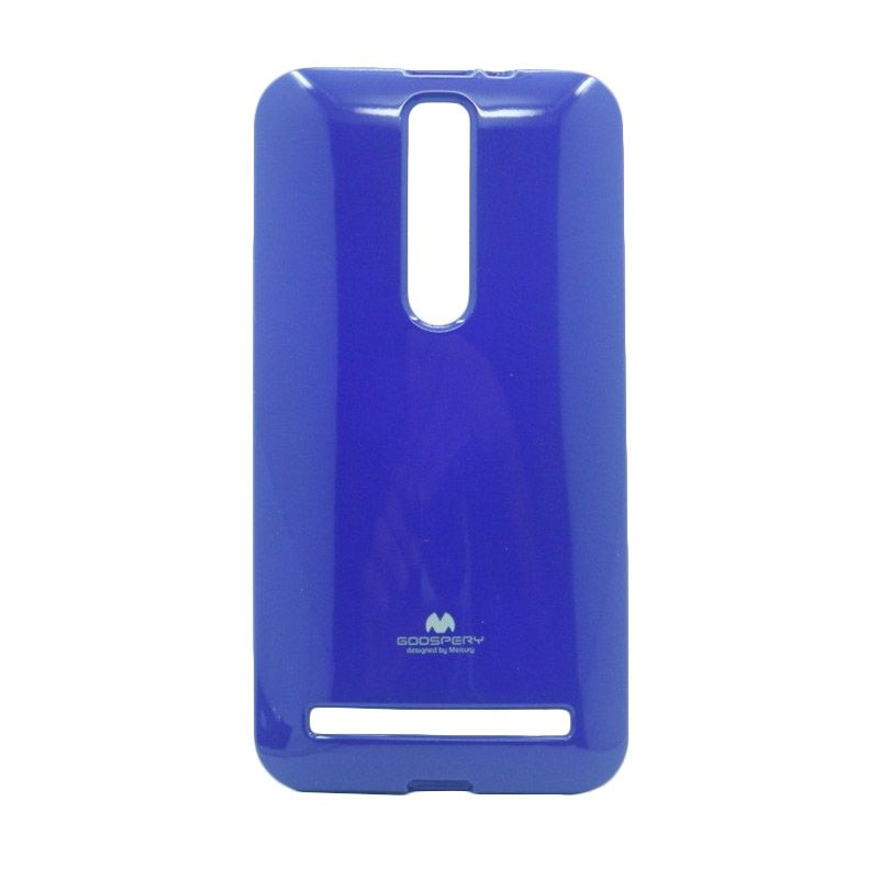 Mercury Goospery Jelly Glitter Blue Casing for Asus Zenfone 2