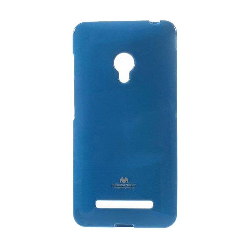 Mercury Goospery Jelly Glitter Blue Casing for Asus Zenfone 5