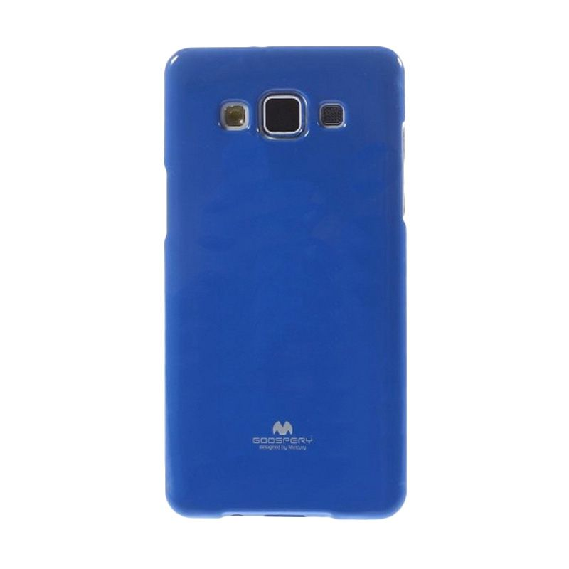 Mercury Goospery Jelly Glitter Blue Casing for Galaxy A5