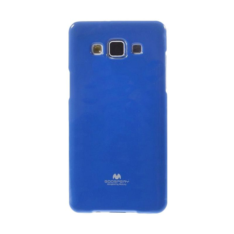 Mercury Goospery Jelly Glitter Blue Casing for Galaxy Grand 2 Duos