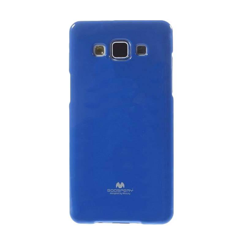Mercury Goospery Jelly Glitter Blue Casing for Galaxy Grand Prime