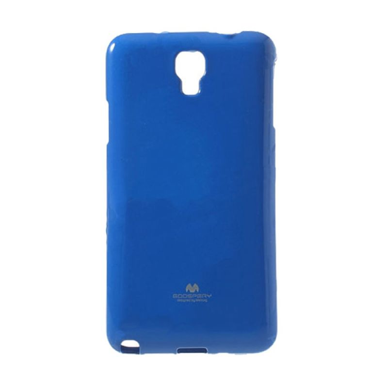 Mercury Goospery Jelly Glitter Blue Casing for Galaxy S5