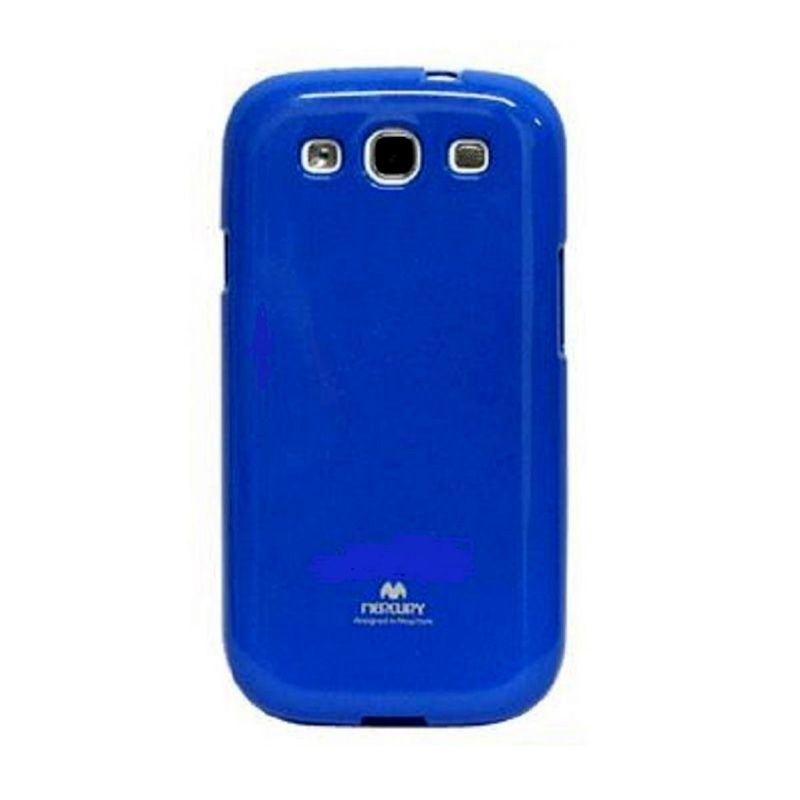 Mercury Goospery Jelly Glitter Blue Casing for Galaxy V or ACE 4
