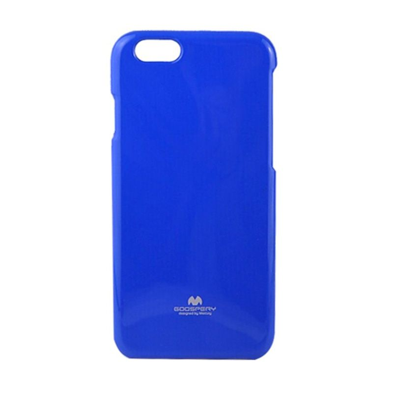 Mercury Goospery Jelly Glitter Blue Casing for iPhone 5 or 5S