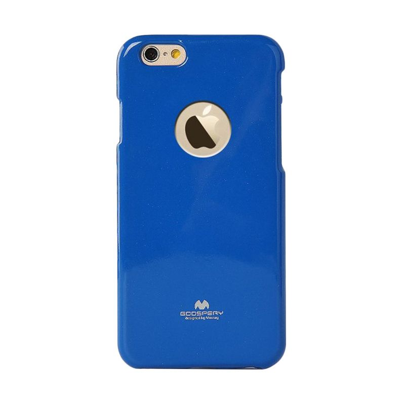 Mercury Goospery Jelly Glitter Blue Casing for iPhone 6