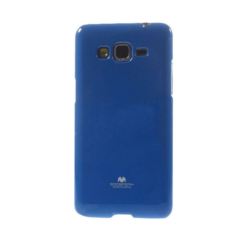 Mercury Goospery Jelly Glitter Blue Casing for Samsung Galaxy Core 2