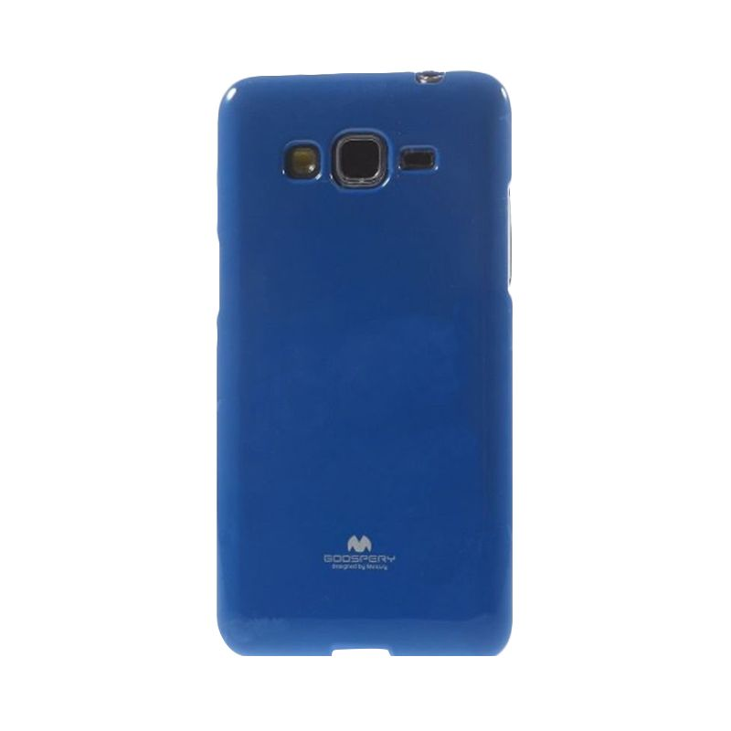 Mercury Goospery Jelly Glitter Blue Casing for Samsung Galaxy J1