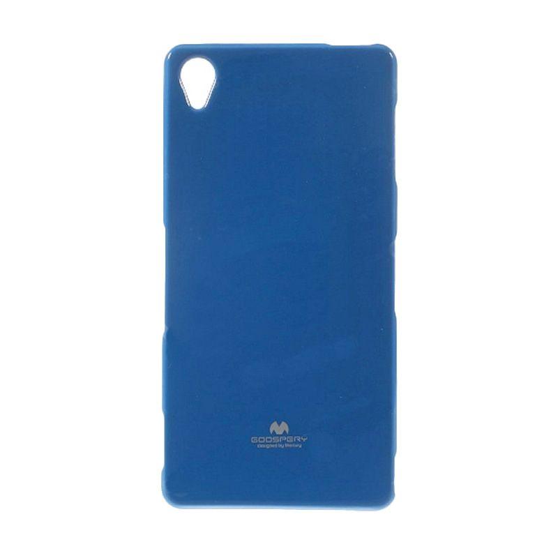 Mercury Goospery Jelly Glitter Blue Casing for Sony Xperia Z3