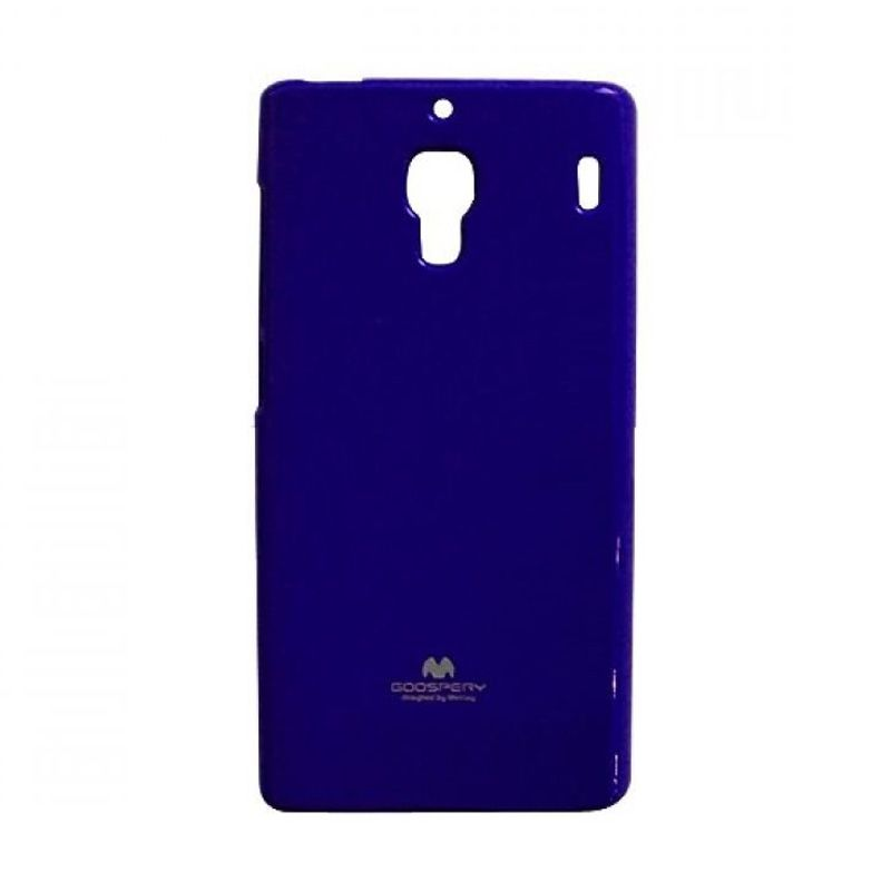 Mercury Goospery Jelly Glitter Blue Casing for Xiaomi Redmi 1S