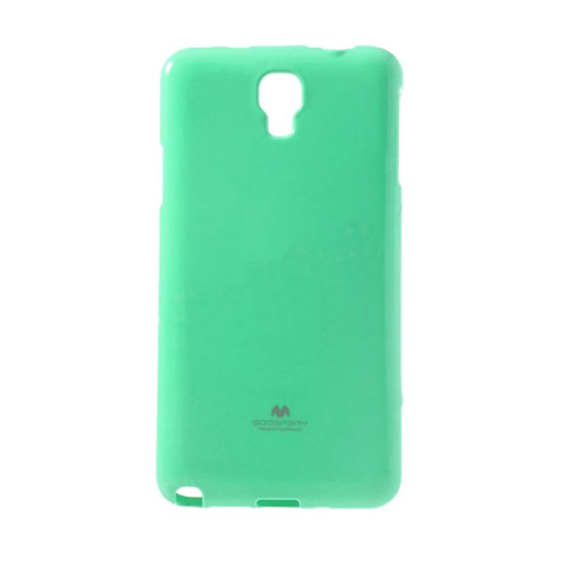 Mercury Goospery Jelly Glitter Mint Casing for Xiaomi Redmi Note
