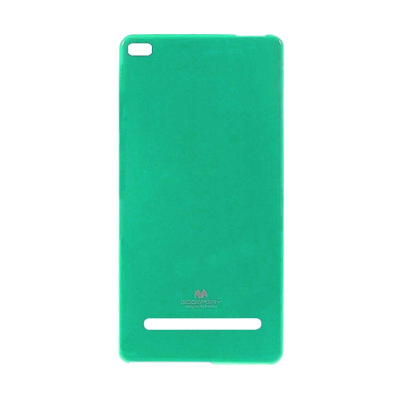 Mercury Goospery Jelly Glitter Hijau Casing for Xiaomi Mi4i