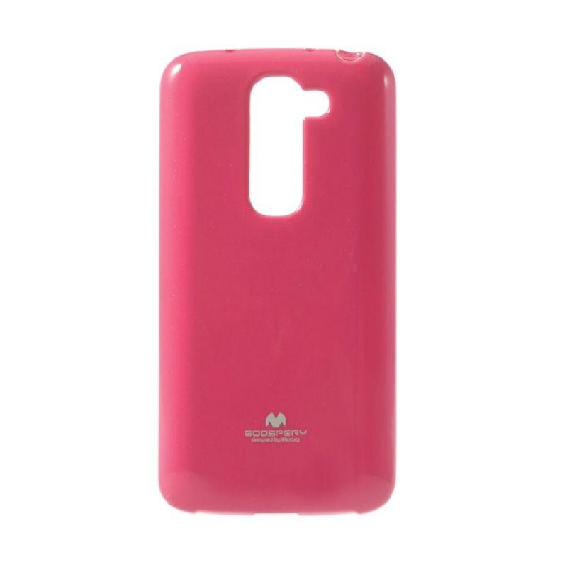 Mercury Goospery Jelly Glitter Hot Pink Casing for LG G2 Mini
