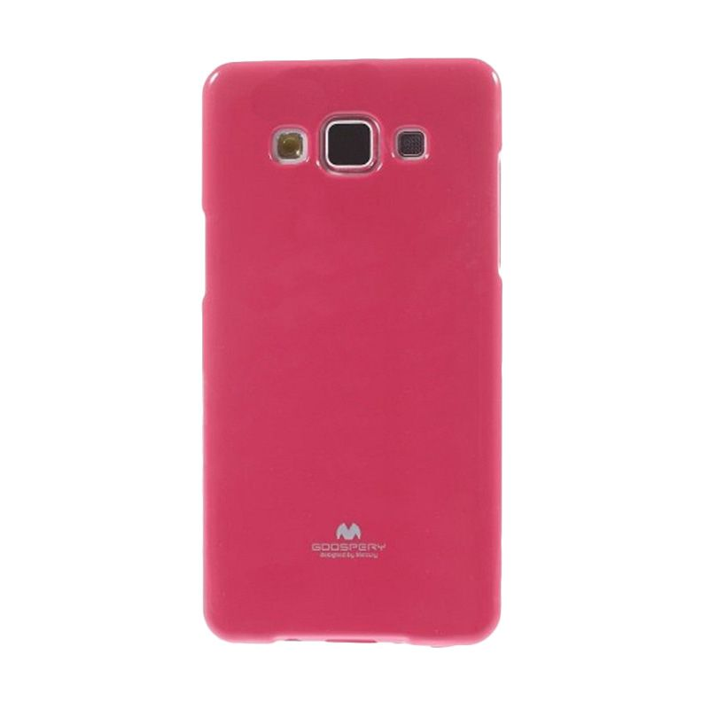 Mercury Goospery Jelly Glitter Hotpink Casing for Galaxy A5