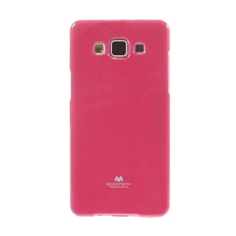 Mercury Goospery Jelly Glitter Hot Pink Casing for Galaxy Grand 2 Duos