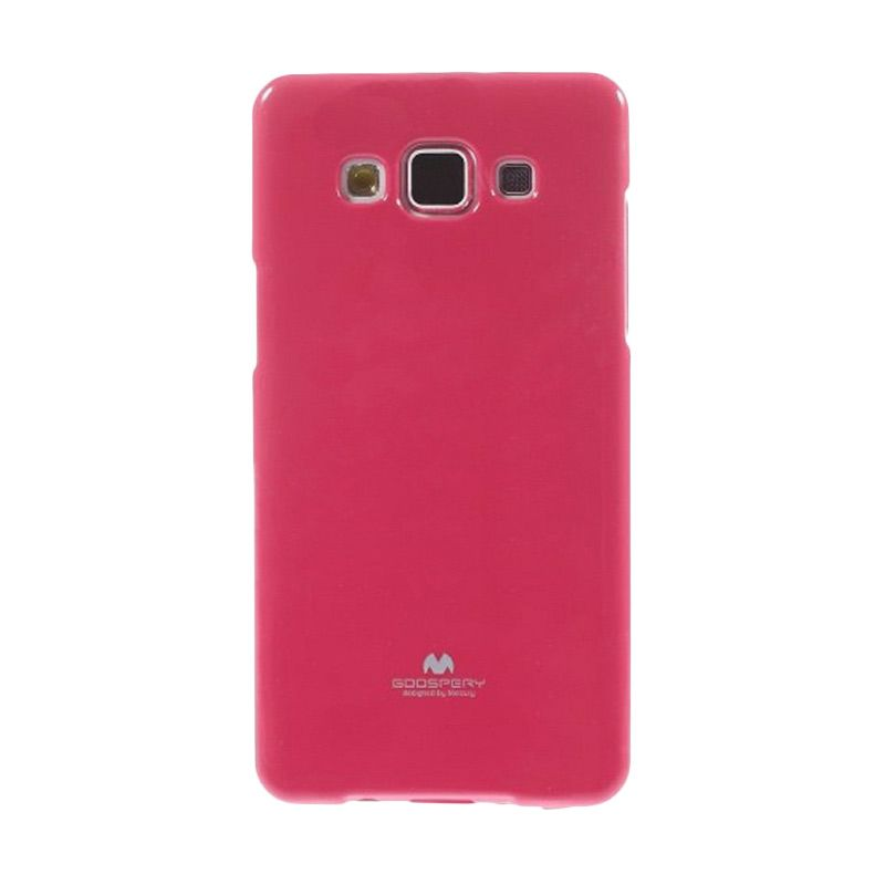 Mercury Goospery Jelly Glitter Hotpink Casing for Galaxy Grand Duos I9080/9082/Neo