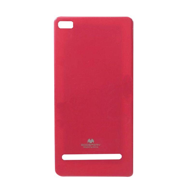 Mercury Goospery Jelly Glitter Hot Pink Casing for Xiaomi Mi4i