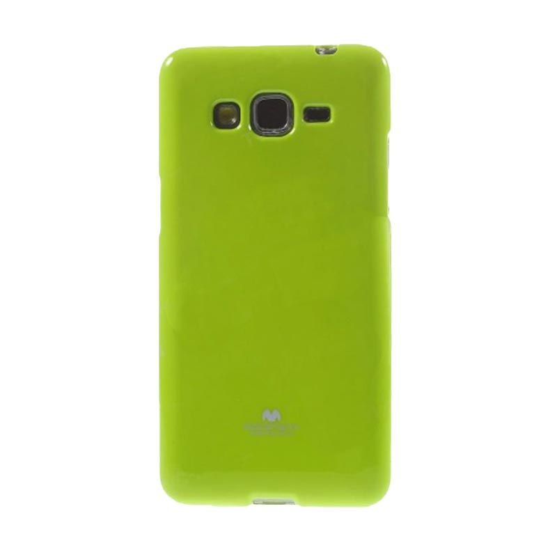 Mercury Goospery Jelly Glitter Lime Casing for Galaxy Grand Prime