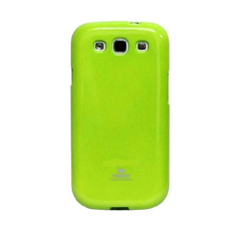 Mercury Goospery Jelly Glitter Lime Casing for Galaxy V or ACE 4