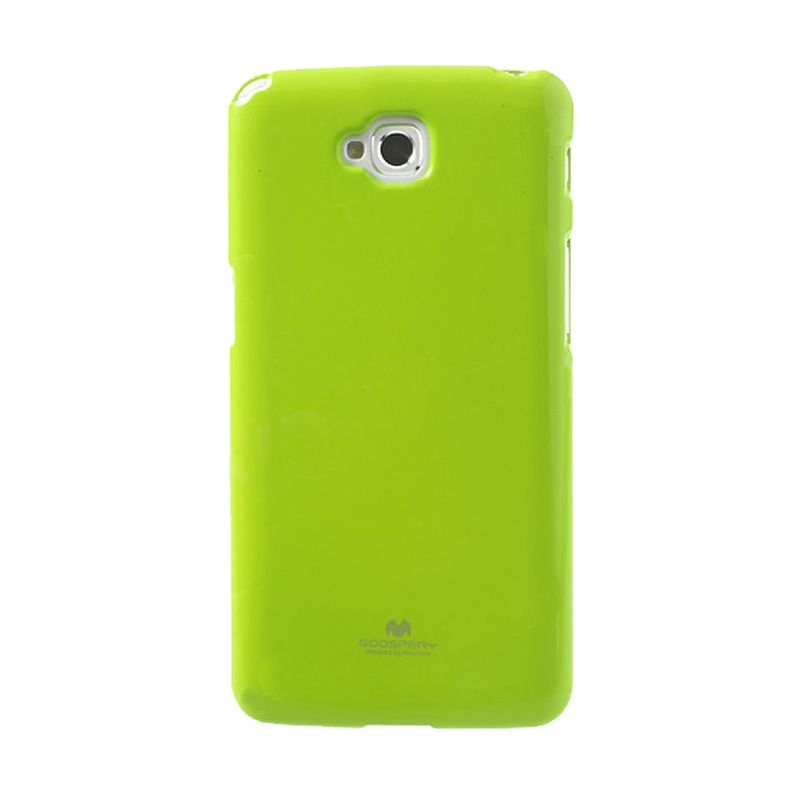 Mercury Goospery Jelly Glitter Lime Casing for LG G Pro Lite or Dual