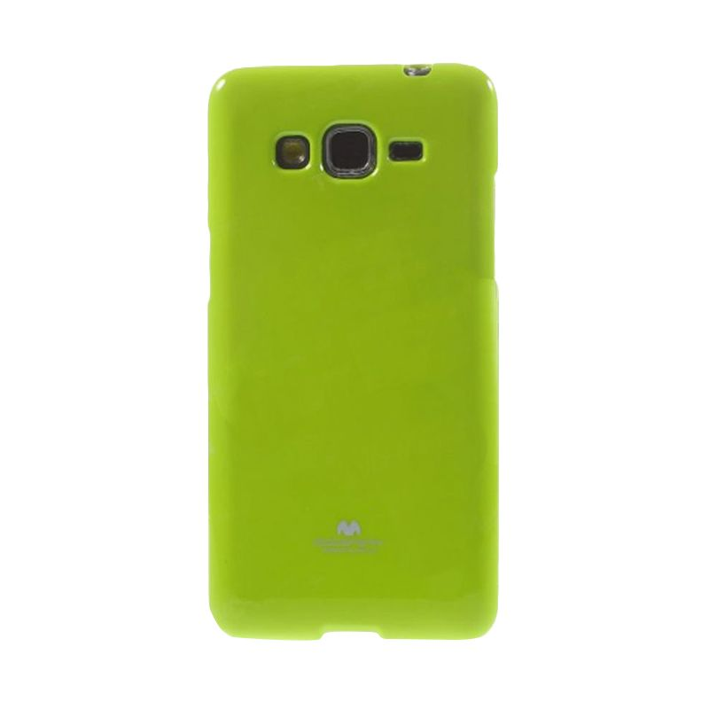 Mercury Goospery Jelly Glitter Lime Casing for Samsung Galaxy Core 2