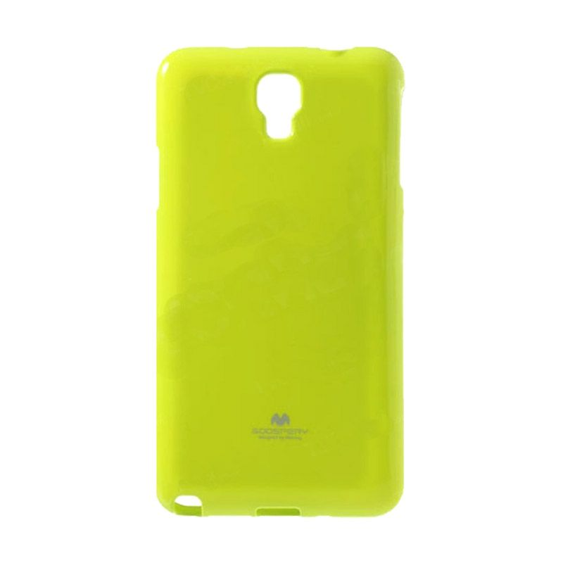 Mercury Goospery Jelly Glitter Lime Casing for Xiaomi Redmi Note