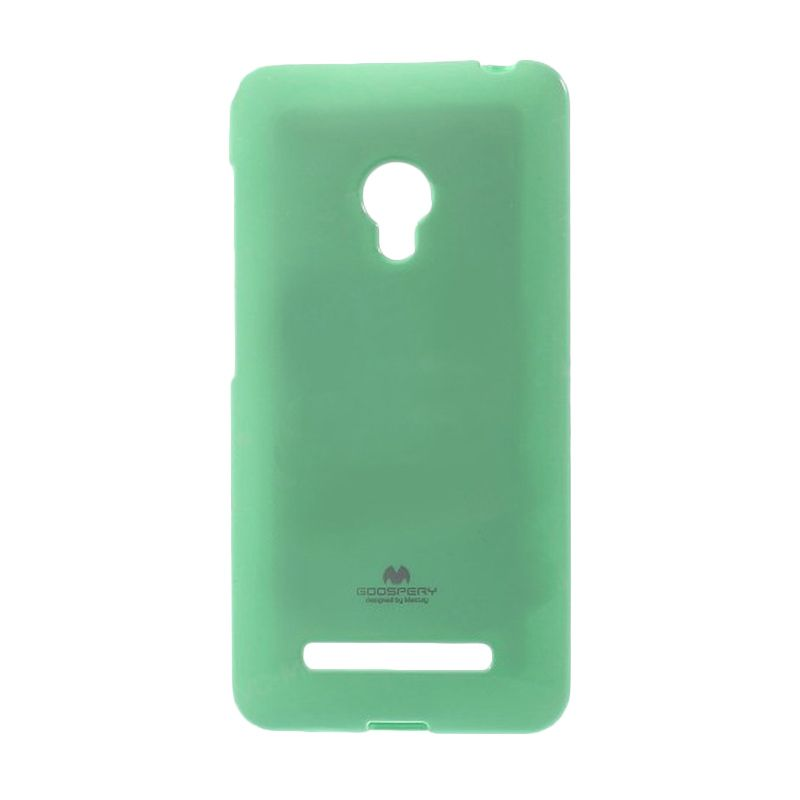Mercury Goospery Jelly Glitter Mint Casing for Asus Zenfone 5