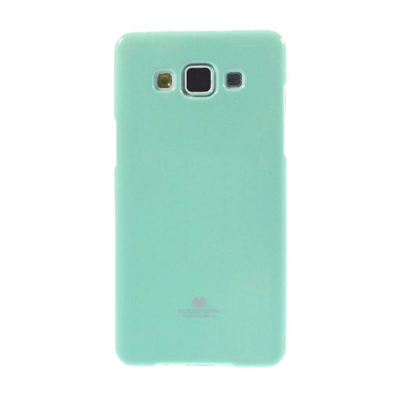 Mercury Goospery Jelly Glitter Mint Casing for Galaxy E5