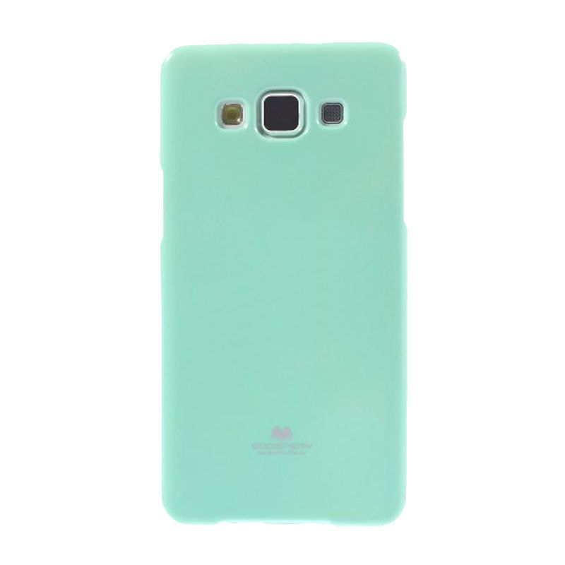 Mercury Goospery Jelly Glitter Mint Casing for Galaxy E7