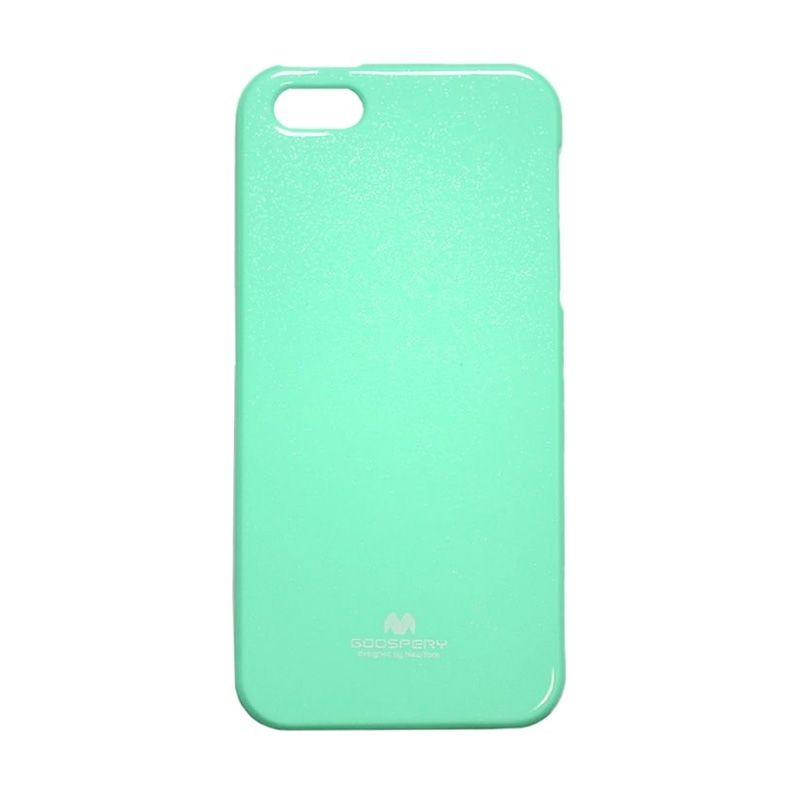 Mercury Goospery Jelly Glitter Mint Casing for iPhone 4 or 4S