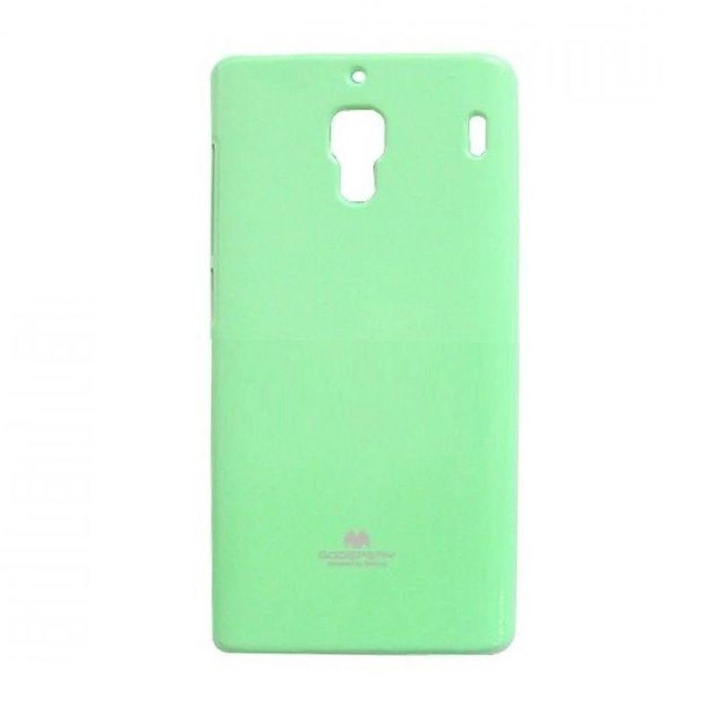 Mercury Goospery Jelly Glitter Mint Casing for Xiaomi Redmi 1S