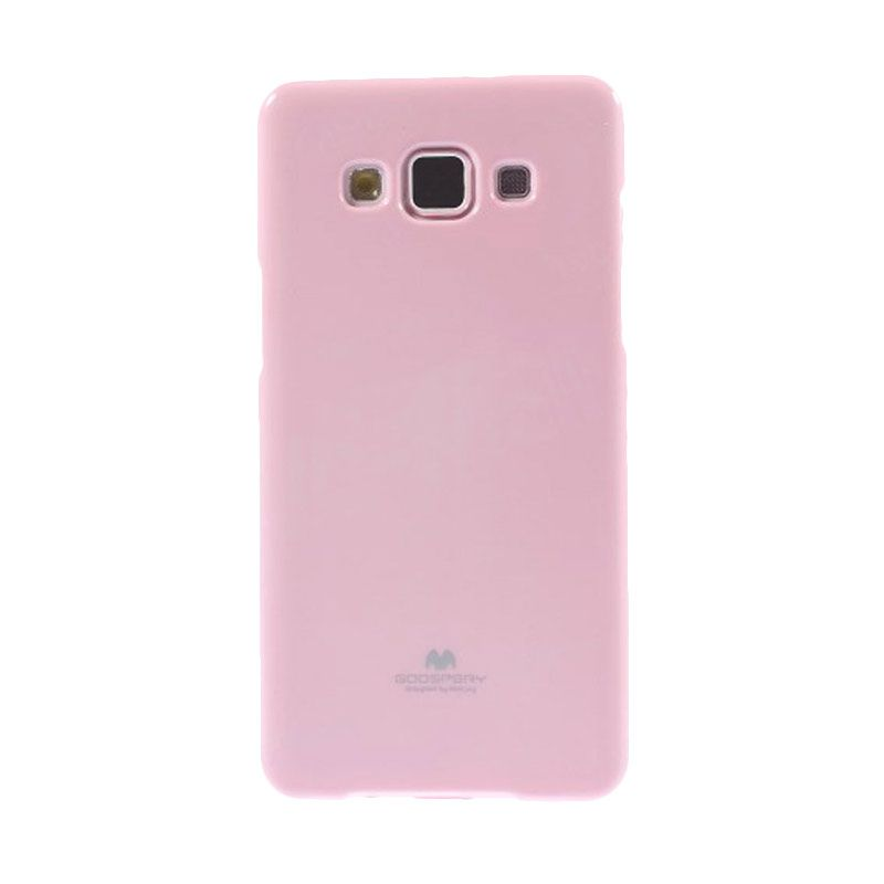 Mercury Goospery Jelly Glitter Pink Casing for Galaxy E7