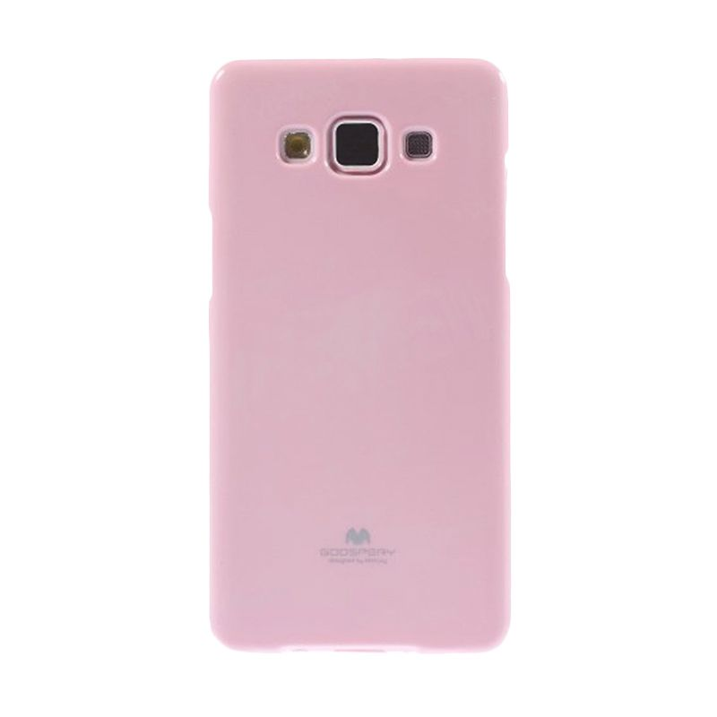Mercury Goospery Jelly Glitter Pink Casing for Galaxy Grand Duos I9080/9082/Neo