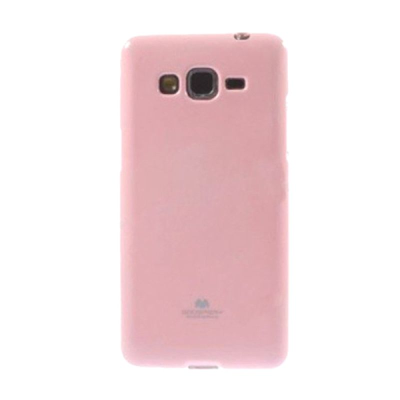 Mercury Goospery Jelly Glitter Pink Casing for Galaxy Grand Prime