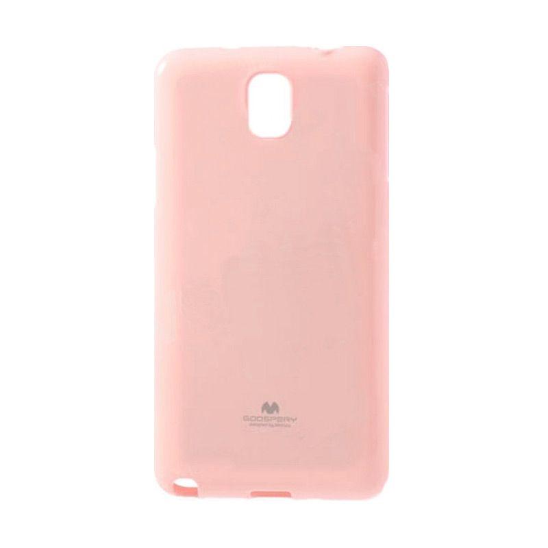 Mercury Goospery Jelly Glitter Pink Casing for Galaxy Note Edge